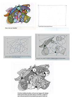 doodle tutorial by bostinstuff, via Flickr