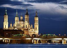 Basilica del Pilar en Zaragoza #zaragoza #pilar #spain