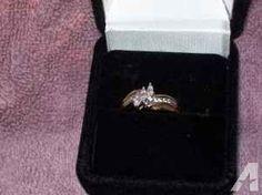1K Gold Diamond Ring - $200 (Long Branch)