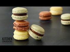 The Science Behind French Macarons - Kitchen Conundrums with Thomas Joseph - YouTube