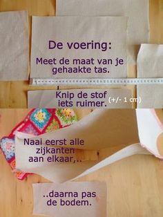 Afbeeldingsresultaat voor ah tas haken Diy Crochet Bag, Love Crochet, Beautiful Crochet, Granny Square Bag, Diy Bags Purses, Crafts For Boys, How To Make Handbags, Sewing Hacks, Sewing Ideas