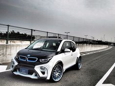 Tuned BMW i3 EVO #Rvinyl is all about the #BMW check out our #Bimmer accessories here: http://www.rvinyl.com/BMW-Accessories.html