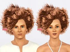 Gender Flip: Wild Fire Fro for the Ladies