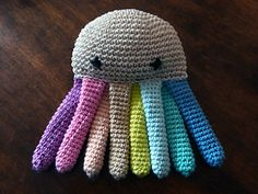 Colourful octopus