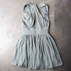 lost valley deep plunge dress in olive - shophearts - 3 Fashion Tv, Spring Fashion, Summer Outfits, Cute Outfits, Summer Clothes, Plunge Dress, Halter Mini Dress, Lilac Dress, Cute Dresses