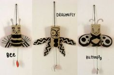 DIY Hilarious Jumping Jack Bugs | Kidsomania
