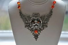 Hey, I found this really awesome Etsy listing at https://www.etsy.com/listing/84178248/victorian-gothic-necklace-swarovski