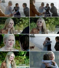 """This is an amazing miracle, but it is a cold miracle, and we're all wet... so"" Kristoff, Emma, Elsa and Anna - 4* 9 ""The Fall."" #ShatteredSight #OnceisFrozen"