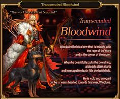 Transcended Dracos - Transcended Bloodwind, Archer Class | Dragon Blaze