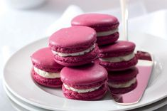 Macaroons, No Bake Cake, Doughnut, Sweet Recipes, Cheesecake, Tasty, Sweets, Baking, Breads