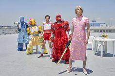 Power Rangers, Harajuku, Dresses For Work, Superhero, Style, Board, Happy, Fashion, Swag