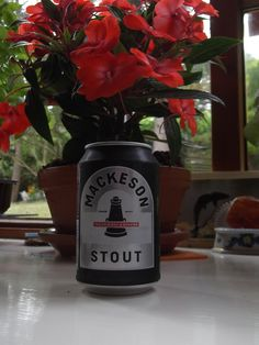 Mackeson's Stout at home....