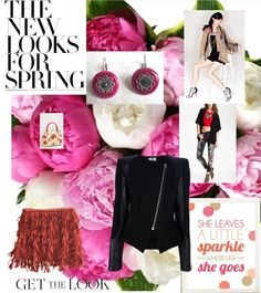 """""""The New Looks for Spring"""" by ourdesignpages ❤ liked on Polyvore"""