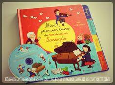 livre-enfants-cd-mon-premier-livre-de-musique-classique-editions-gründ-CD - music kids