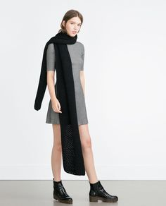 ZARA - NEW IN - RIBBED DRESS