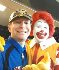 It's The Mc.Ronald Selfie Smiles!