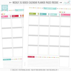 FREE printables for personal use by MissTiina- student planner! Ta-daaaaa. Goes well with Hexane &Heels daily pages!