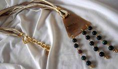 https://www.facebook.com/GeorgiaVasilopoulou.GV/?ref=bookmarks  #necklace #linen