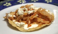 Chicken Tinga with Cabbage