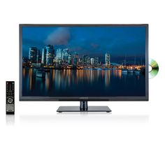 AXESS TVD1801-32 32-InchLED HDTV, Features VGA/HDMI/SD/USB Inputs, Built-In DVD Player, Full Function Remote