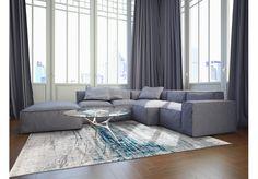 Dywany Mad Men :: Dywan vintage 8421 Bronx Azurit - Carpets&More - wysokiej klasy dywany i akcesoria tekstylne