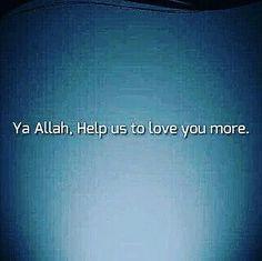 Ya Allah  Draw us closer to Your Pleasure Distant us from Your displeasure & protect us from Your wrath!
