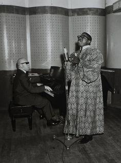 The Reverend Cleophus Robinson, Peacock Recording Studios, c. 1956