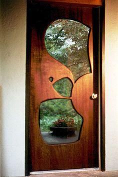 Window in the door