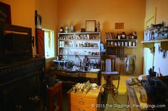 Assay Office display at the Jerome State Historic Park:  http://blog.thediggings.com/jerome-state-historic-park/