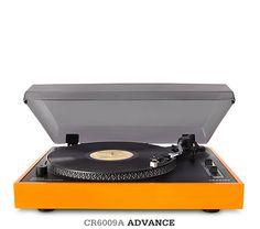Orange Turntable / Vinyl
