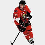 99.99  Daniel Alfredsson - Ottawa Senators - NHL Maurice Richard, Daniel Alfredsson, Mario, Nhl Players, National Hockey League, Best Player, Ottawa, A Team, Superhero