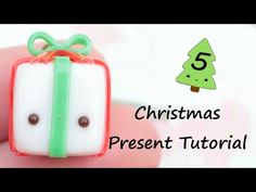 #kawaii #charms #polymer #clay #christmas #present #charm #tutorial
