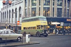 FJW 547 at Beatties Corner Wolverhampton Nostalgic Pictures, Bus Coach, Light Rail, Wolverhampton, West Midlands, The Good Old Days, Public Transport, Coaches, Over The Years