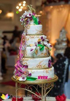 sari wedding cake - Cake by KEEKjes