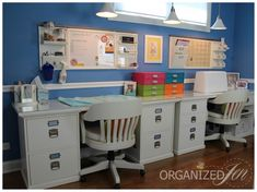 Home Office: Dedicated Work Stations