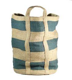 Jute Bag - Perfect for storing ugly household items like toilet paper, sport equipment, toys etc!