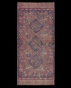 Kain Batik Tulis Arab Ritual Cloth Jambi, Sumatra Cotton; batik 19th Century