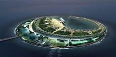 Galería de Diller Scofidio + Renfro ganan concurso para una Eco-Isla en China…