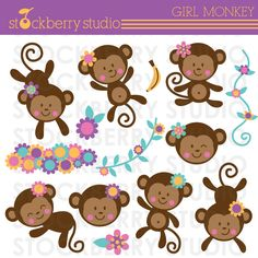 Giraffe Baby Shower Wishes For Baby Boy - Blue Gray Baby Shower Well Wishes For… Monkey Girl, Cute Monkey, Mod Monkey, Baby Girl Shower Themes, Baby Shower, Pretty Drawings, Beautiful Drawings, Wishes For Baby Boy, Year Of The Monkey