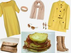 Italian Food and Style: Primavera Estate 2015: giallo e rosa