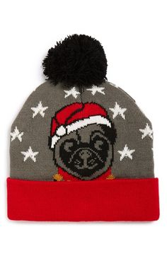 Capelli of New York  Jolly Pug  LED Beanie available at  Nordstrom  kziegenh db4fc79ed5