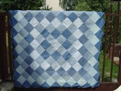 Blue Jean Quilt   MY HOME AWAY FROM HOME