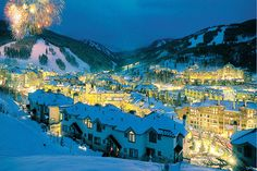 Skiing at Beaver Creek - Love it, esp. the Sushi Place with fish flown in fresh every day from Hawaii