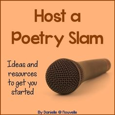 Spice up your poetry unit by hosting a Poetry Slam. Students will love engaging with poetry in this new way! This freebie includes a classroom-tested timeline, links to examples, and a worksheet to get your students analyzing.