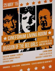 Cinefórum Living Room: Invasion of the Bee Girls