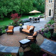 Entry Design & Backyard Patio