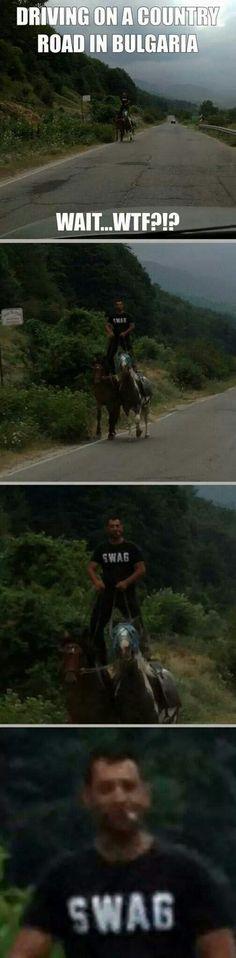 Währenddessen auf einer Landstraße in Bulgarien | Webfail - Fail Bilder und Fail Videos