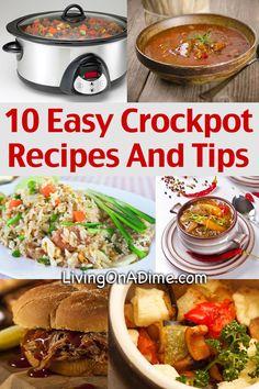 10 Easy Crockpot Recipes and Tips