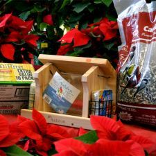 know someone who loves bird watching get them bird gift basket from mendham garden center - Mendham Garden Center