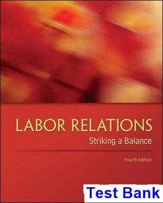 Test bank for leadership research findings practice and skills 8th labor relations striking a balance 4th edition budd test bank test bank solutions manual fandeluxe Choice Image